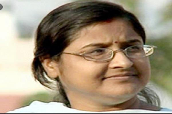 cm will sit at home for justice nutan thakur