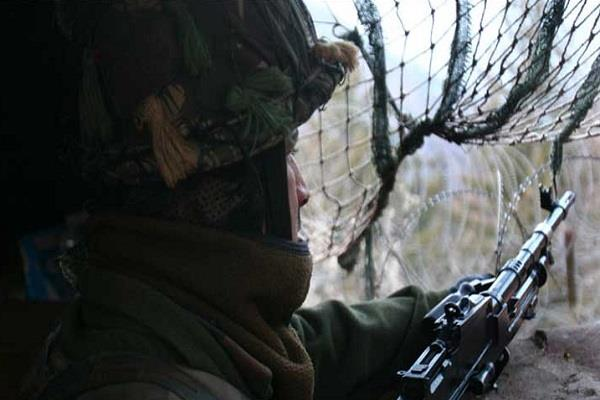 pak breaks down ceasefire in panch sector army giving a befitting reply