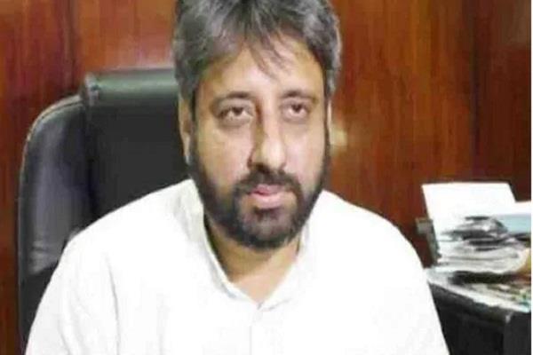 tahir punished for being a muslim amanatullah khan