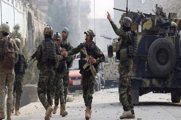 firing in kabul rally after us taliban accord 27 killed