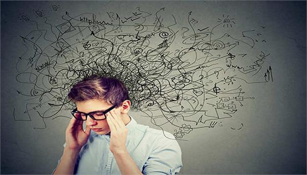 corona virus people under mental stress in lockdown