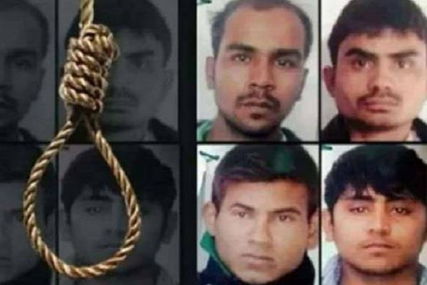 nirbhaya case executioner to be present in jail three days before hanging