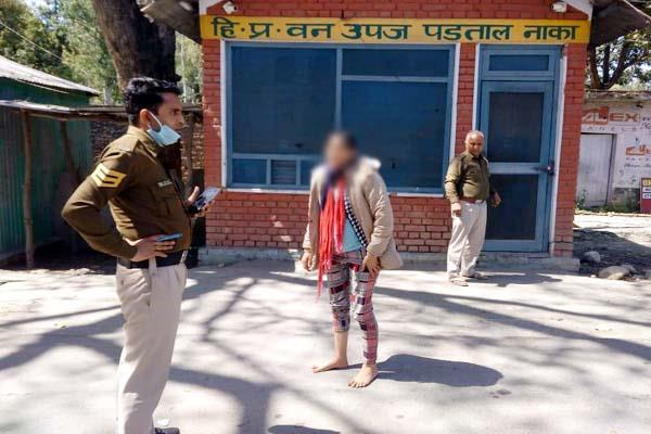 husband was taking dehradun after beating his pregnant wife