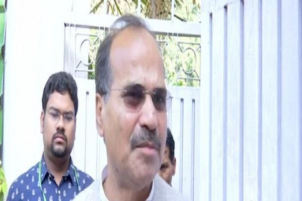 congress leader adhir ranjan chaudhary s house attacked