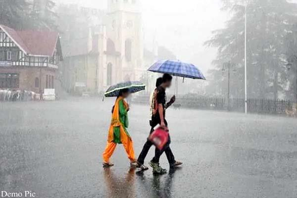 rain and hailstorm warning in himachal