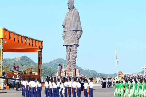 corona virus statue of unity closed until 25 march