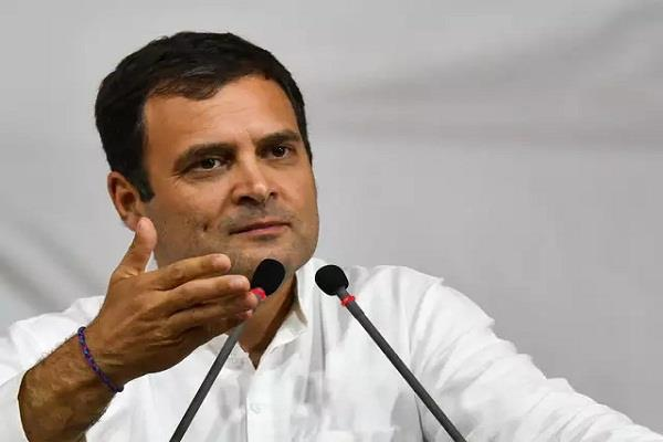 rahul gandhi s advice to pm modi said leave hate not social media