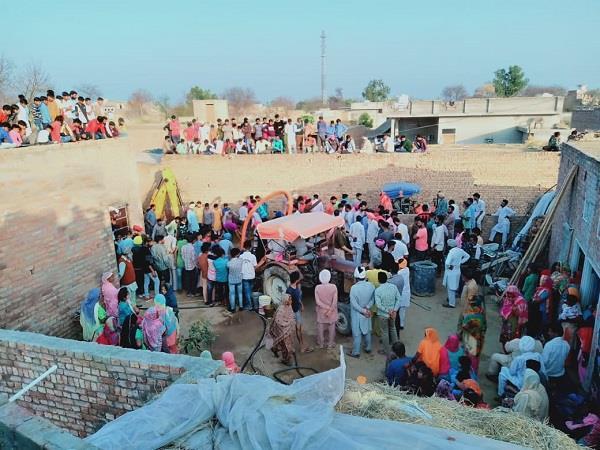 40 year old laborer buried in village