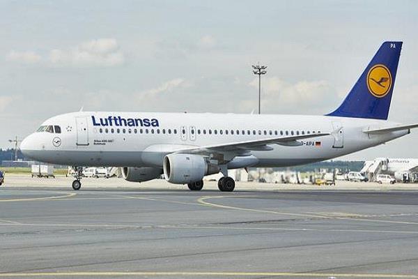 german airline lufthansa banned 150 flights