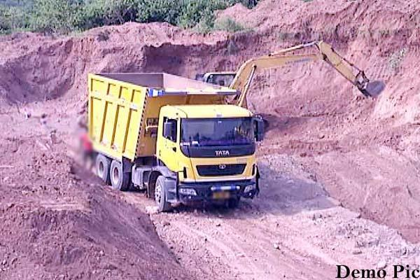 sting operation of mining team police link connect to mining mafia