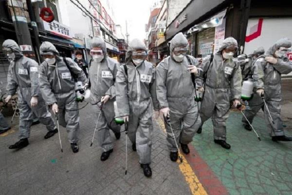 corona virus world s focus on south korea iran and italy after china