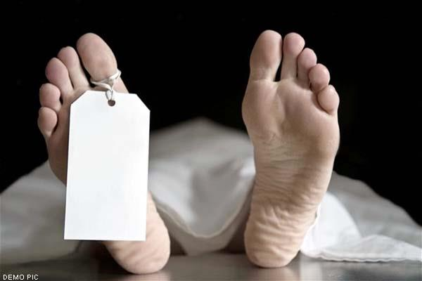 death of an elderly man returned from abroad
