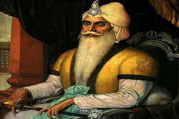 maharaja ranjit singh the all time greatest leader of the world in bcc survey