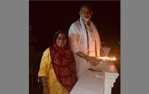 ram bilas said lit lamp and showed world india winning war of corona