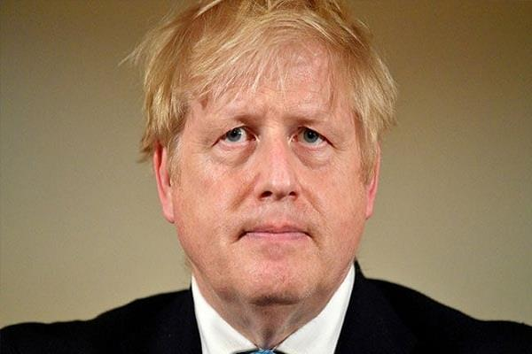 corona infected british prime minister boris johnson coming out of icu