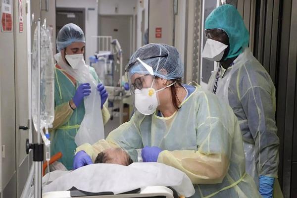 corona virus killed 541 people in france in last 24 hours