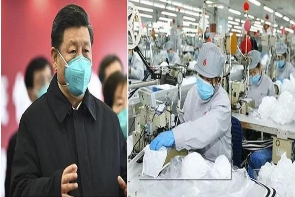 even in the time of world wide disaster china is not descending from  deceit