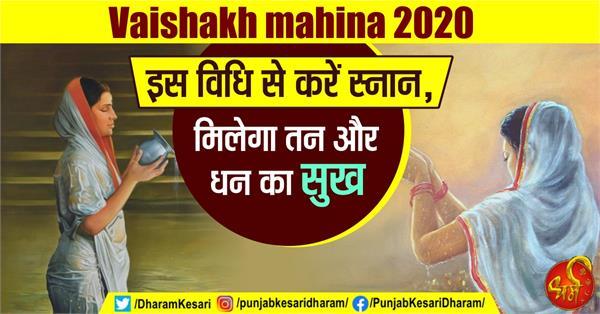 vaishakh month