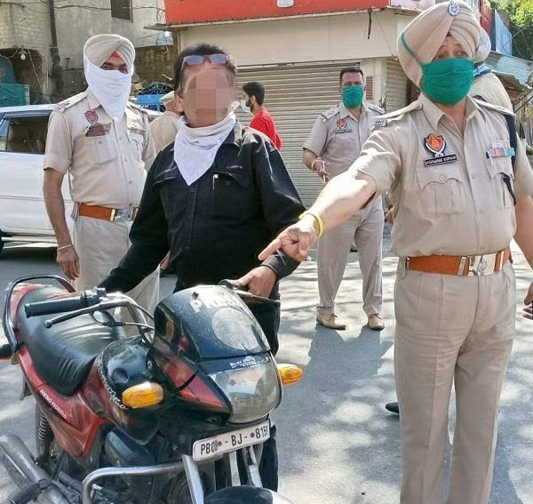 arrest in jalandhar