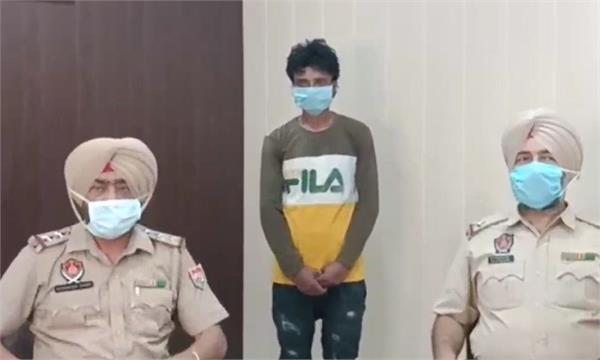 prisoner of ludhiana jail break arrested from mandi gobindgarh