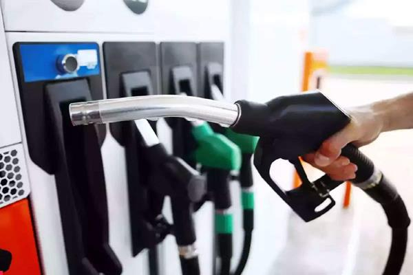 there is no change in the prices of petrol and diesel