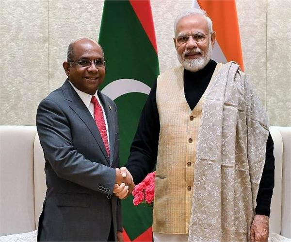 maldives thanks india for  approving  request for hydroxychloroquine
