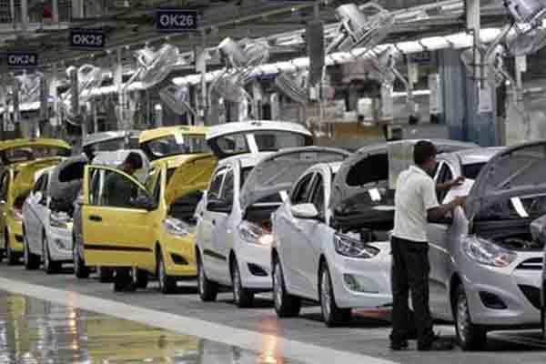 crisis for automobile industry giving 15 of total tax