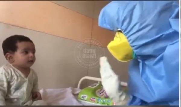 CoronaVirus: कोरोना की चपेट में 7 महीने का मासूम