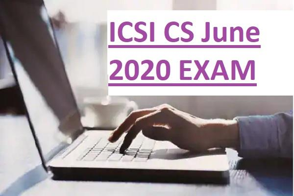 icsi cs june 2020 exam for submission date extended due to coronavirus
