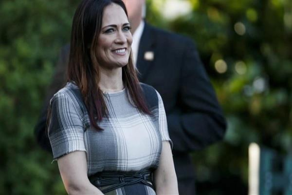 white house press secretary stephanie grisham resigns from her post