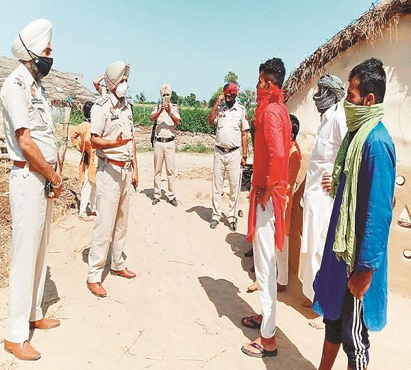 acp major singh arrives at gujjar s camp questioned