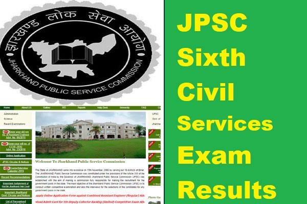 jpsc sixth civil services exam results announced 326 candidates pass