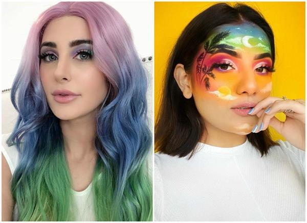 सेल्फ-क्वारंटाइन की वजह से शुरु हुआ Unicorn Makeup का ट्रेंड