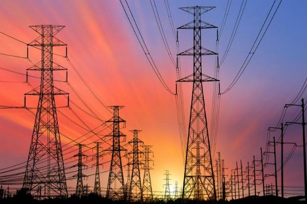 know the effect on power grid by turning off the lights of houses in minutes