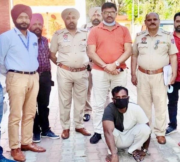 smuggler arrested with heroin