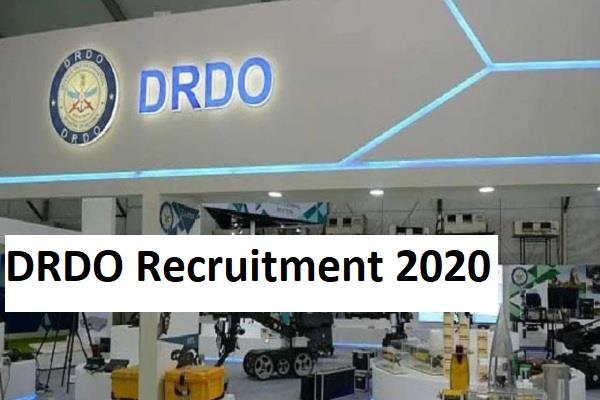 drdo recruitment 2020 registration dates extended again