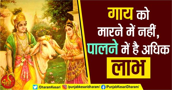 religious concept related to cow in hindi