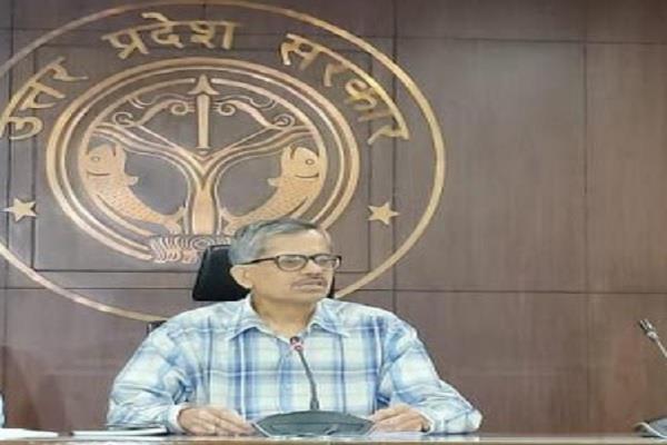 up chief secretary rk tiwari gave instructions