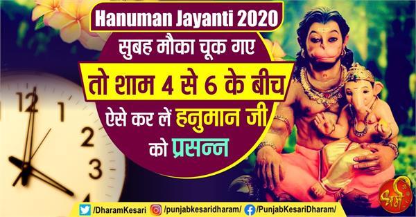 hanuman jayanti 2020 special vastu upay in hindi