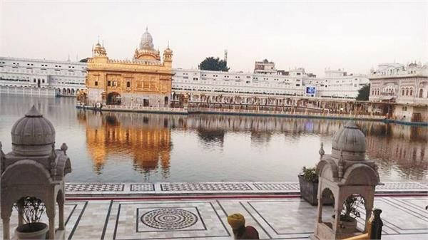 there was a wave of devotees in the golden temple