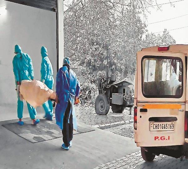 humans died of corona bones left unclaimed in the crematorium