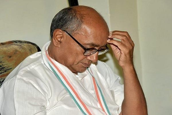 senior congress leader digvijay did his mobile switch off know the reason