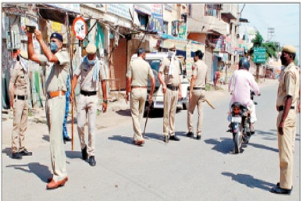 administration tightened to implement lockdown in jind city
