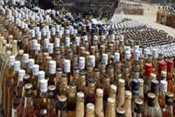 illegal alcohol seized in samba