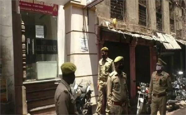varanasi 7 policemen from the same checkpoint are korena positive