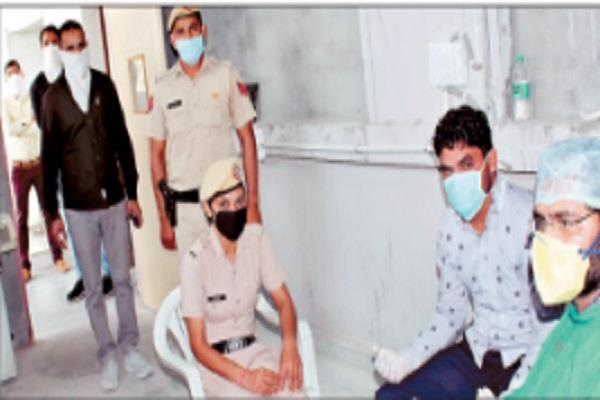 lockdown medical checkup done for 270 police personnel on duty