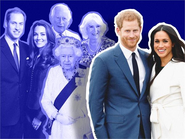 prince harry megan formally separated from royal family