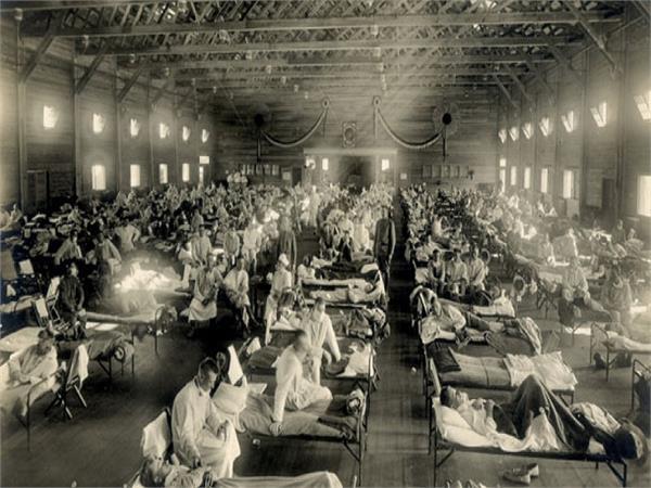 कोरोना ही नहीं, 100 साल पहले भी स्पेनिश फ्लू भी मचा चुका भारी तबाही