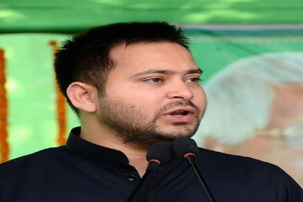 tejashwi attacked on nitish