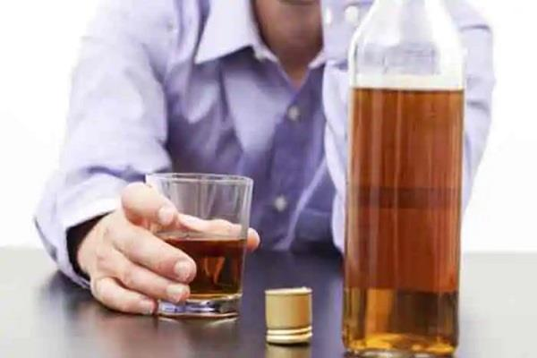 shadow of drug addicts in the colony colonies disillusioned by drinking liquor